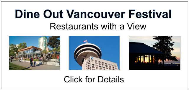 Dine Out Vancouver Restaurants with a View