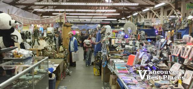 Inside the Vancouver Flea Market