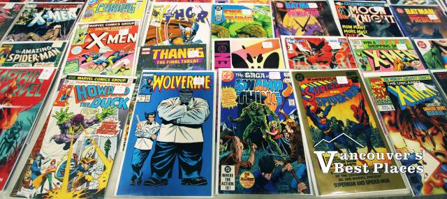 Comic Books at the Comic Book Show