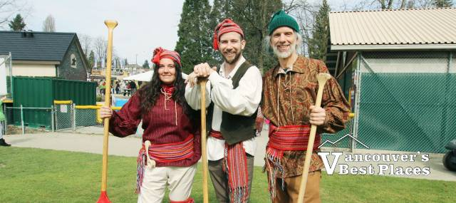 Festival Voyageurs in Costume