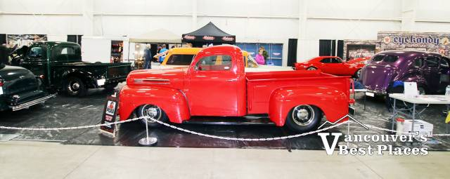 Classic Truck on Display at Tradex