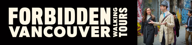 Forbidden Vancouver Walking Tours