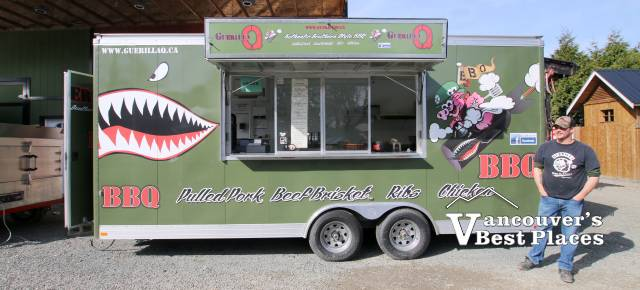 Guerilla Q BBQ Ribs Food Truck