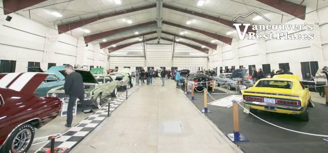 Indoor Car Show at Tradex