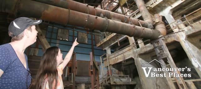 Mill No. 3 at Britannia Mine