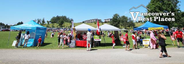 Canada Day Festivities in Mission