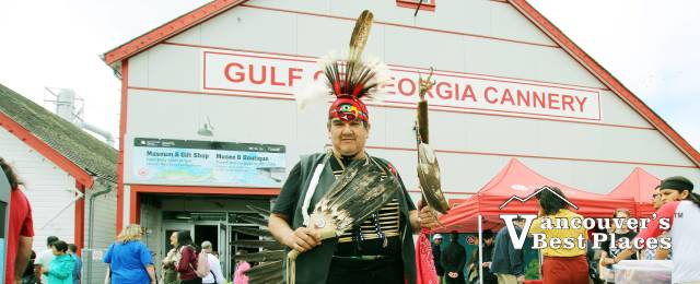 Indigenous Peoples Day at the Cannery