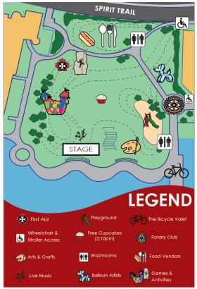 North Vancouver Canada Day Map