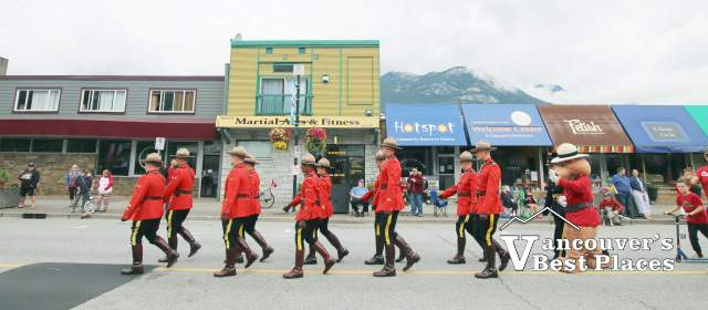 Squamish Canada Day Parade