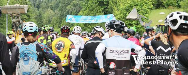 Ride for Rescue Start Line