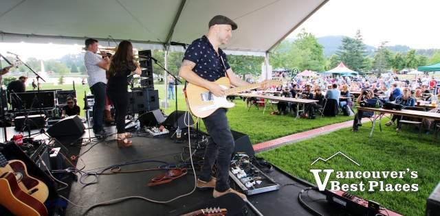 Tom Landa at BC Highland Festival