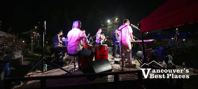 Night Concert at Cultus Lake Waterpark