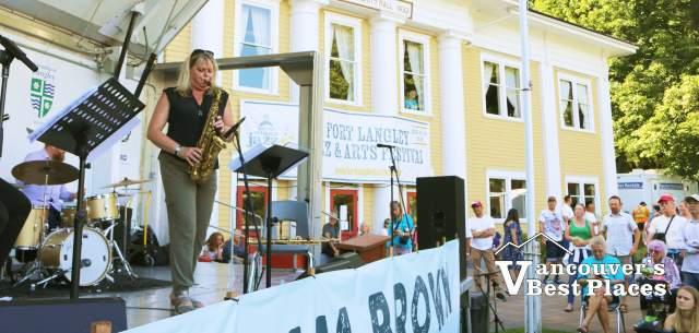 Fort Langley Jazz with Christine Jensen