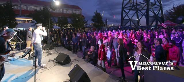 Concert at Shipbuilders' Square