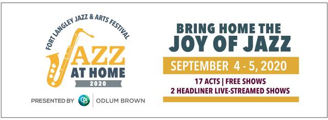Fort Langley's Jazz at Home