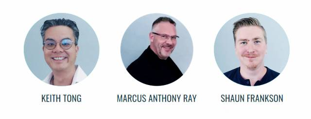 Marcus Anthony Ray, Shaun Frankson & Keith Tong