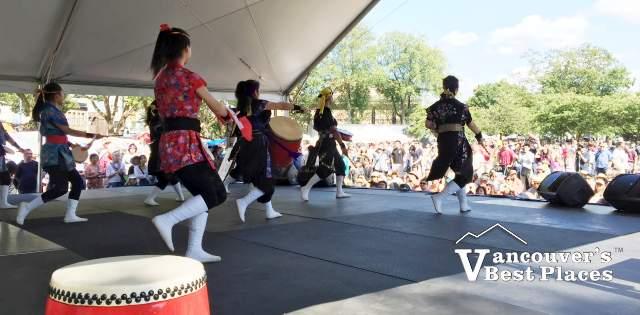 Vancouver Okinawa Taiko Performance