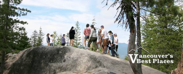 Hiking at the Sea to Sky Gondola