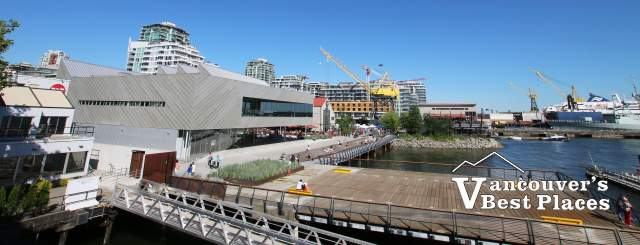 Polygon Gallery at North Vancouver Waterfront