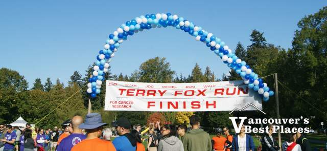 Stanley Park Terry Fox Run