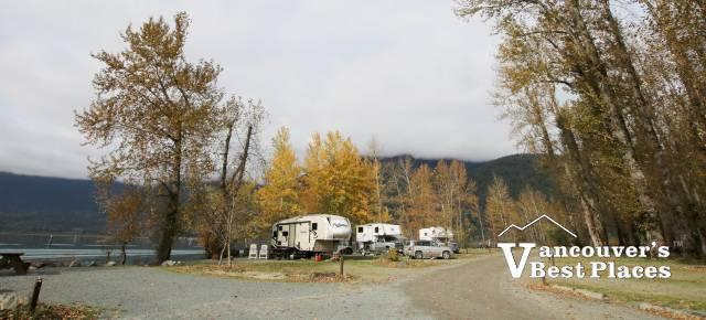 Camping at Kilby Park