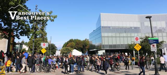 UBC During Climate Strike