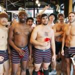 Movember Undie Runners at the Brewhall