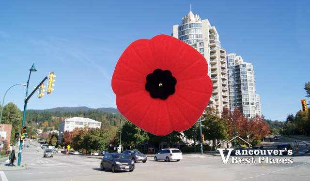 Port Moody on Remembrance Day