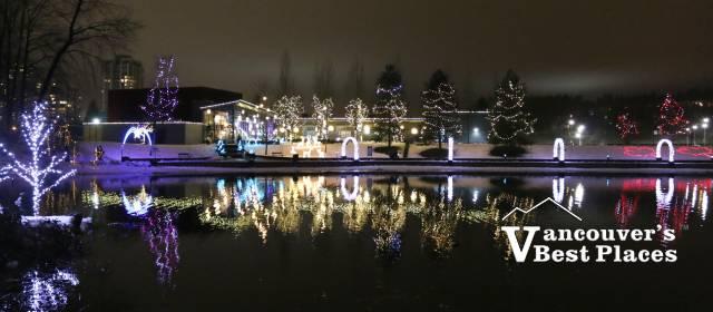 Christmas Lights at Lafarge Lake