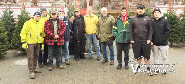 Vancouver Christmas Tree Chipping Charities