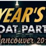 Vancouver New Year's Eve Boat Party Ad