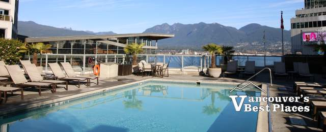 Outdoor Pool at the Fairmont Waterfront
