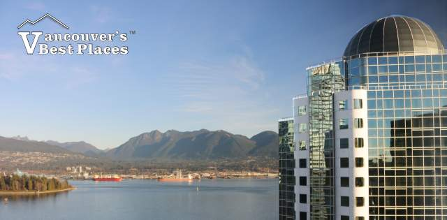 Pan Pacific View from the Fairmont Waterfront
