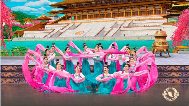 Shen Yun Dancers on Stage