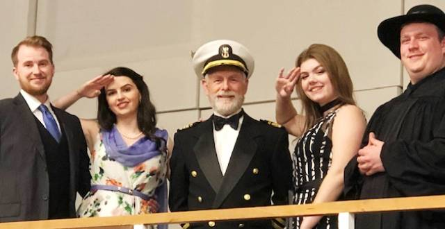 Cast & Crew at Anything Goes