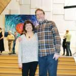 Doug and Gillian Irwin at Highlands United