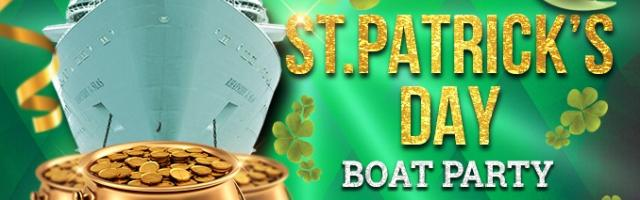 St. Patrick's Day Boat Party