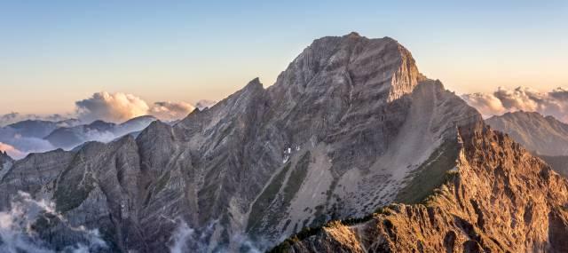 Taiwanese Mountain Peak