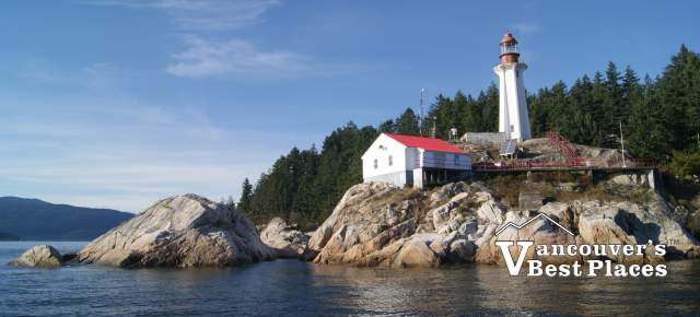 Lighthouse Park in West Vancouver