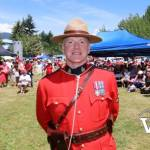RCMP Officer at Waterfront Park