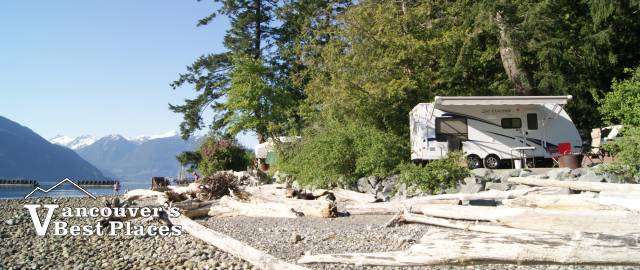 RV Camping at Porteau Cove