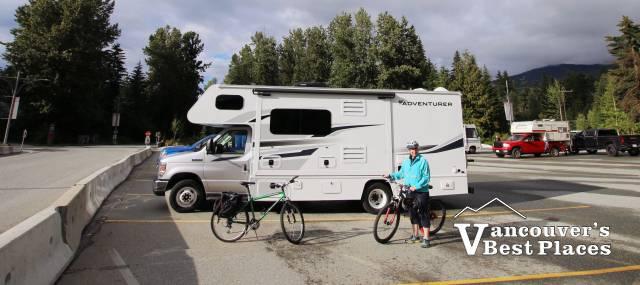 RV Parking at Whistler