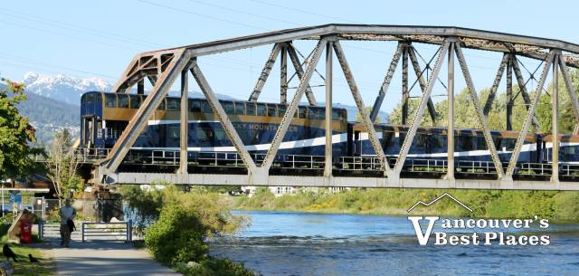 Rocky Mountaineer in West Vancouver