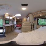 360 degree view from the middle of the RV