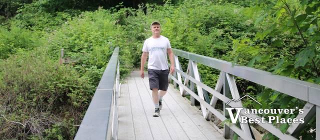 Bridge on Baden Powell Trail
