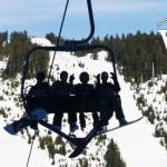 Cypress Chairlift Silhouettes