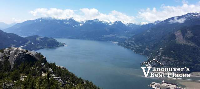 Howe Sound View from Stawamus Chief