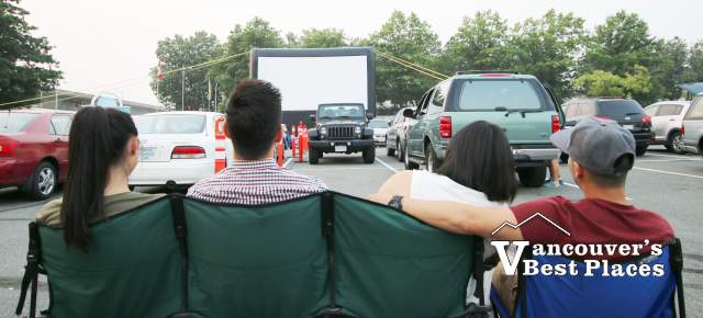 Lansdowne Outdoor Drive-in Movie Night