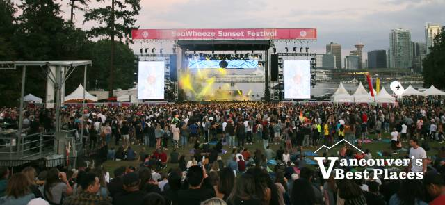 SeaWheeze Sunset Festival Concert