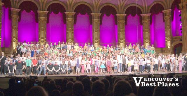 Children's Performance at the Orpheum Theatre